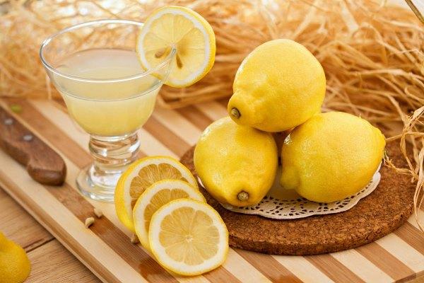 Лимонный сок снимает покраснение