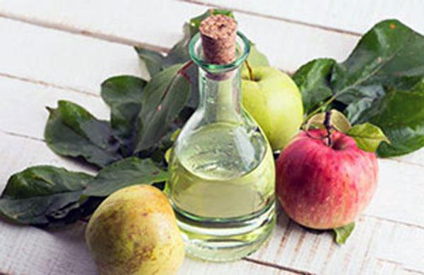 для удаления можно использовать яблочный уксус