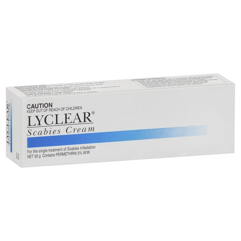 Buy Lyclear Scabies Cream 30g Online at Chemist Warehouse®