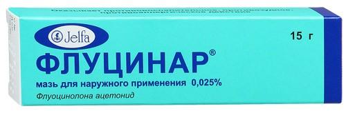 Флуцинар - эффективная гормональная мазь против дерматита