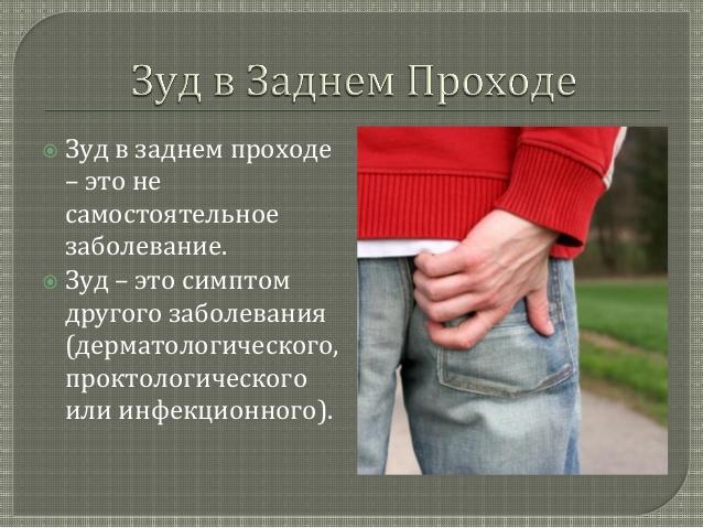 Зуд в заднем проходе у женщин и мужчин: основные причины жжения