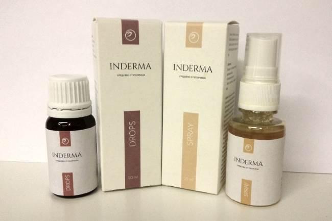 Капли и спрей Индерма от псориаза: отзывы, инструкция по ...